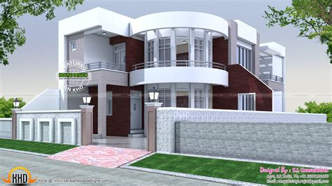home layout design 40x75 modern house plan kerala home design and
