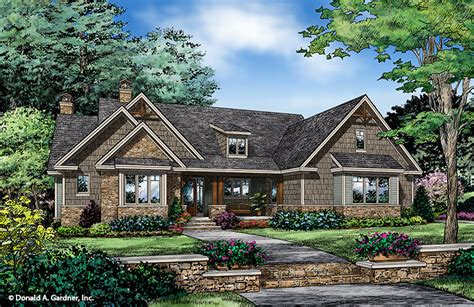 Home Plan The Ferris By Donald A. Gardner Architects