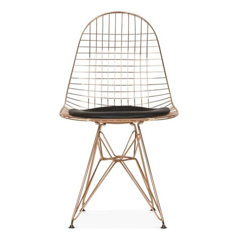 eames inspired style black dkr wire chair eames inspired