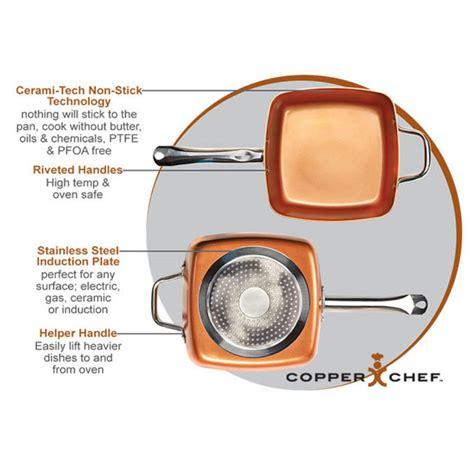 copper chef square pan     tv      tv