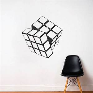 rubik cube vinyl wall decal sticker murals trendy wall With kitchen colors with white cabinets with rubik s cube stickers