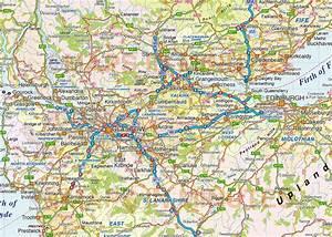 Scotland Vector Road  U0026 Rail Map Including Orkney