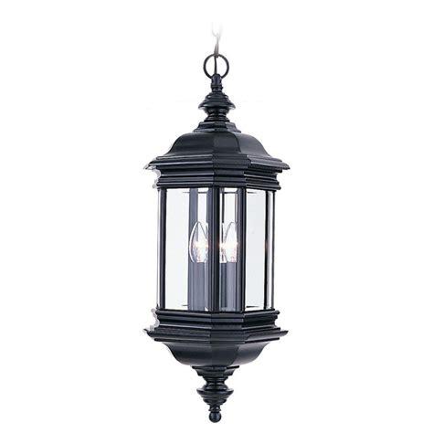 home depot outdoor hanging lights sea gull lighting hill gate 3 light outdoor black hanging