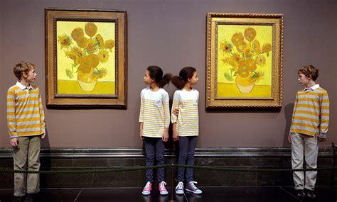 van goghs  sunflower paintings ft photo diary
