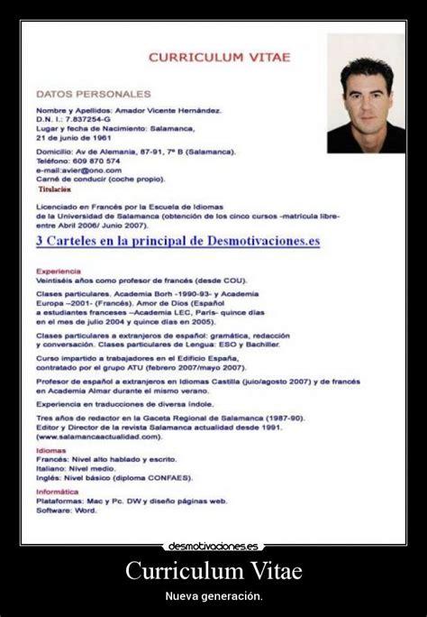 Curriculum Vita Or Vitae by Curriculum