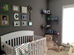 Nursery Decor Pinterest by Baby Boy Nursery With Collage Wall Greynursery Baby Miz