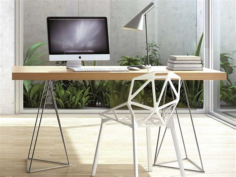 design bureau de travail où trouver des tréteaux joli place