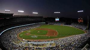 Los Angeles Dodgers Baseball Stadium Wallpapers Hd Desktop
