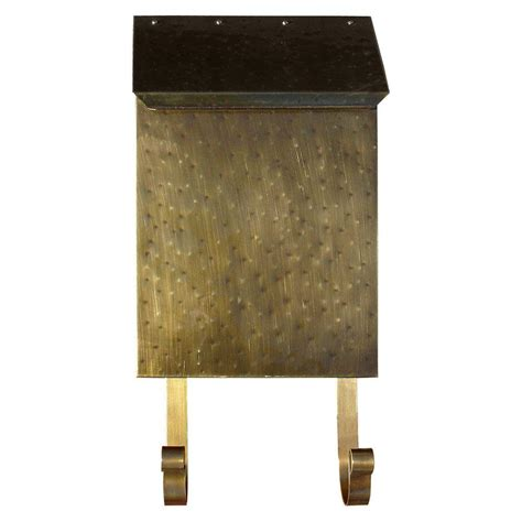 rustic kitchen faucets qualarc antique brass wall mount non locking brass mailbox