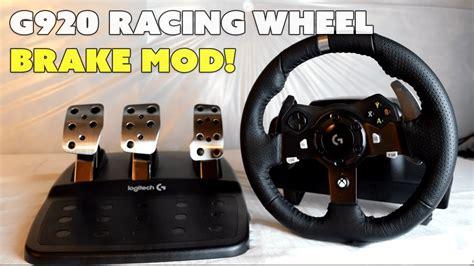 brake fix logitech g920 brake pedal mod