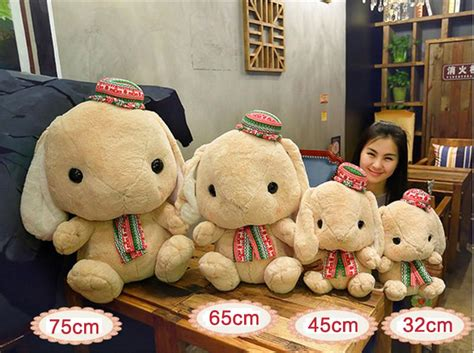 Wholesale Big Huge Plush Bunny Plush Toy 75cm Giant