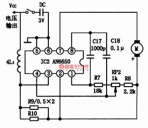 An6650-the Integrated Motor Speed-stable Circuit - Power Supply Circuit