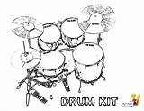 Coloring Drum Drums Musical Printable Kit Kits Percussion Printables Cool Instruments Instrument Yescoloring Snare Boys Pounding Guitars Results sketch template