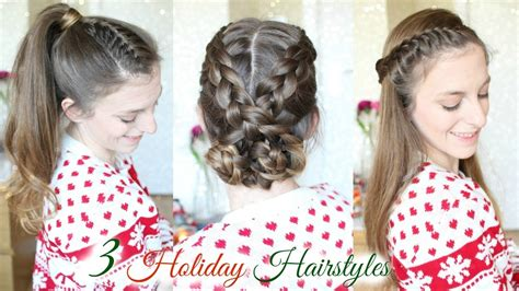 3 Cute Braid Hairstyles For The Holidays