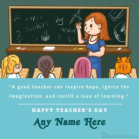 world teachers day card   edit