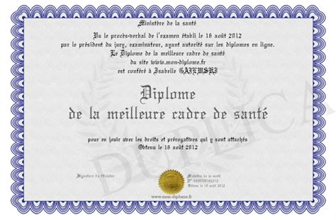 licence cadre de sante diplome de la meilleure cadre de sante