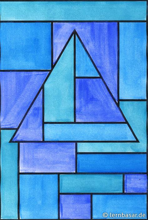 Bild Geometrische Formen geometrische formen ton in ton tolle idee f 252 r ihren