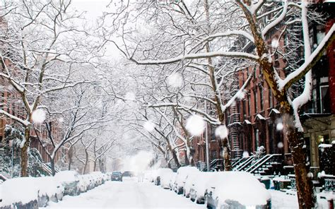 winter on new york streets wallpaper for widescreen