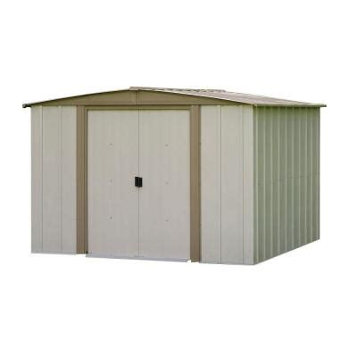 arrow bedford 8 ft x 8 ft steel storage shed bd88 the