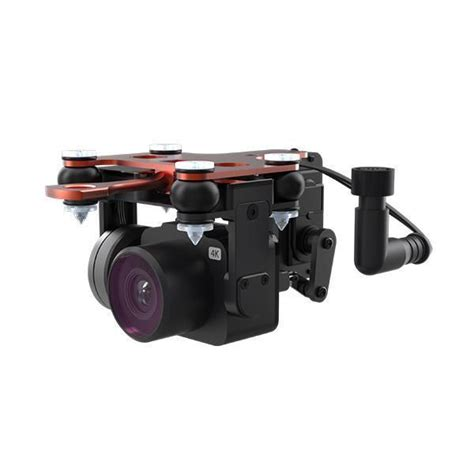 swellpro splashdrone  waterproof payload release   camera   axis gimbal recording
