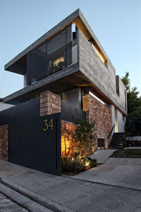 house design architecture playful mix of textures driving energy inside modern