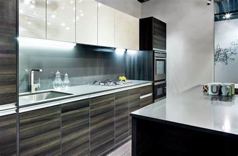 high gloss black kitchen cabinets i like the high gloss wood grain some bathroom ideas 7041