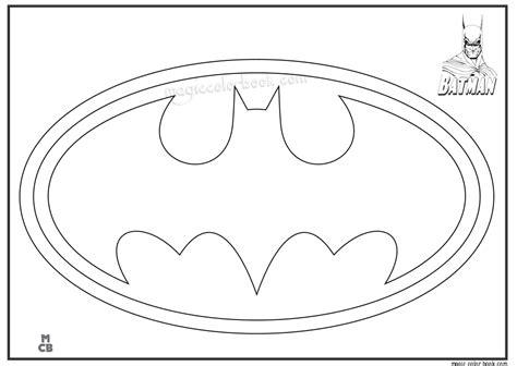 Free Printable Batman Logo Coloring Pages