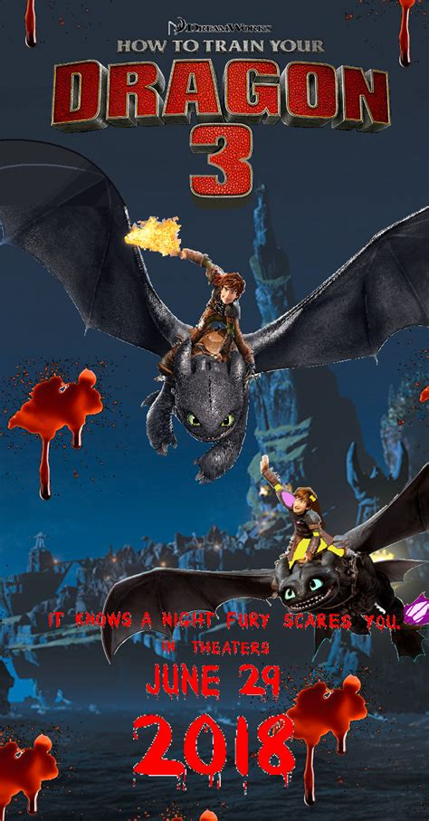 How To Train Your Dragon 3 By Dreamworksmovies On Deviantart