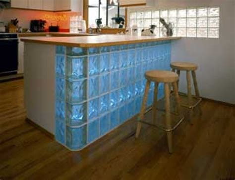 laminate floors in kitchen how to use glass blocks in a kitchen buildipedia 6760