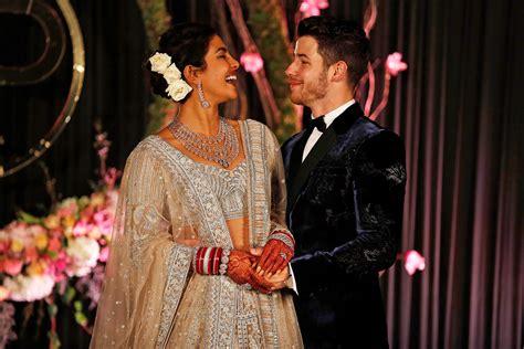 Priyanka Chopra And Nick Jonas Continue Wedding Celebrations With Reception