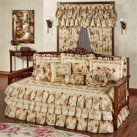 vintage bed set vintage floral ruffled daybed bedding set
