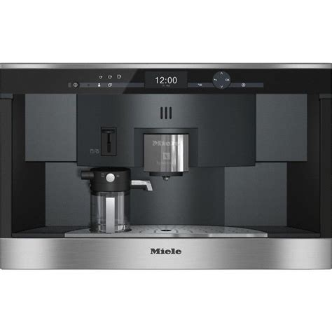 Quick & to your taste: MIELE CVA6431 Built-in coffee machine with Nespresso system