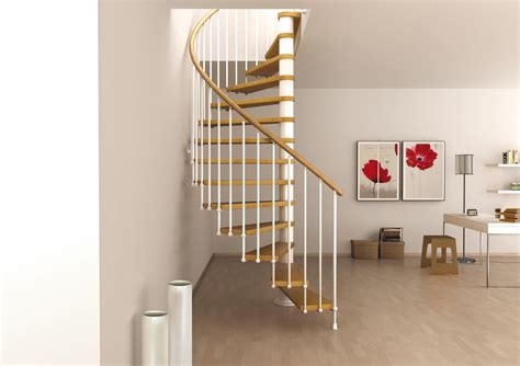 diy home interior space saving spiral staircase type quot toscana quot l00l stairs