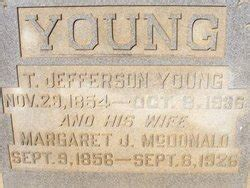 Margaret Jane McDonald Young (1856-1926) - Find A Grave ...