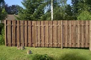 Sichtzäune Aus Holz : rustikaler sichtschutzzaun seeland aus kiefer fichte ~ Watch28wear.com Haus und Dekorationen