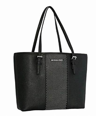 Tote Kors Michael Stud Carry Leather Micro