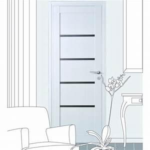 Stunning porte interieur vitree noire pictures amazing for Porte de garage coulissante et porte vitrée intérieur bureau
