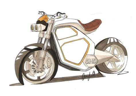 Electric Motorcycle Design Project On Behance