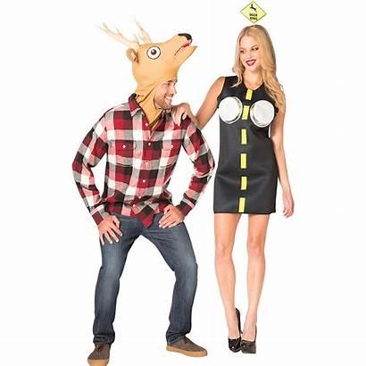 Couples Costume Deer Couple Adult Headlights Costumes