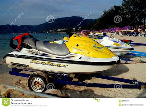 Water Scooter Patong by Patong Thailand Rental Jet Skis Editorial Image Image