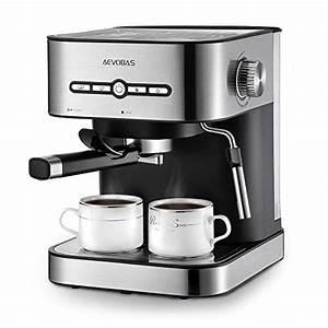 Kaffeemaschine Mit Milchaufschäumer : aevobas kaffeemaschine espresso espressomaschine 15 bar mit milchaufsch umer f r cappuccino ~ Eleganceandgraceweddings.com Haus und Dekorationen
