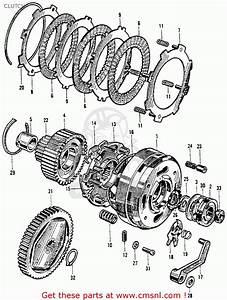 Honda Ct200 Trail 90 1964 Usa Clutch