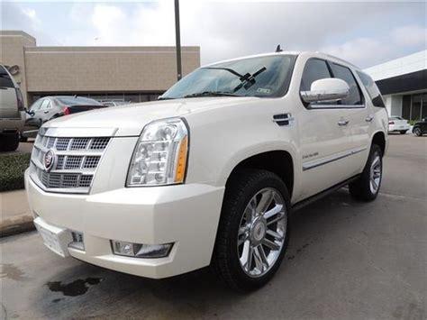 2014 Cadillac Escalade Platinum Platinum 4dr Suv Suv 4