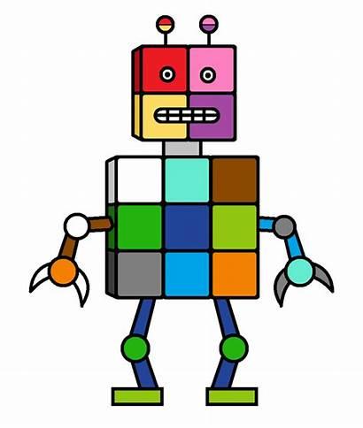Robot Clipart Square Transparent Deviantart Webstockreview Feet