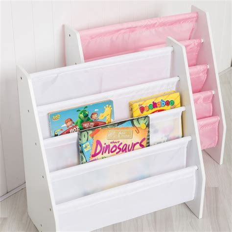 Childrens Bookcase by Children S Sling Bookcase In White