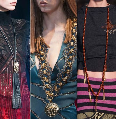 Jewelry Trends Fallwinter 20142015 Necklaces Ranabn