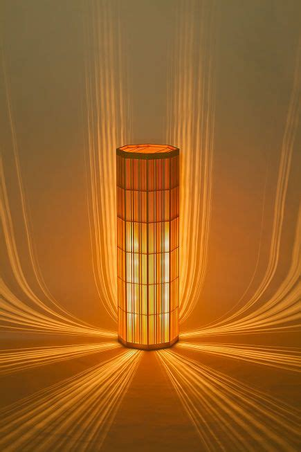 contoh kerajinan lampu hias  bambu  keren