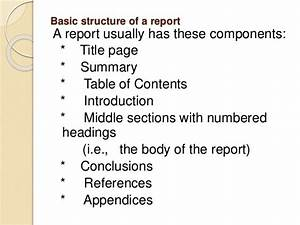Formal Report Title Page 10 Technical Communication
