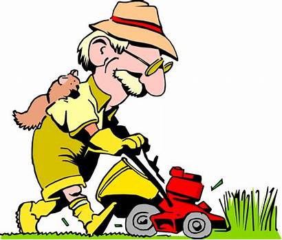 Clipart Maintenance Landscaping Lawnmower Lawn Transparent Mowing