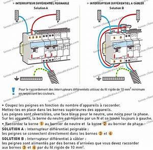 Section Fil Electrique : section des fils lectriques en amont raccordement disjoncteur ~ Melissatoandfro.com Idées de Décoration
